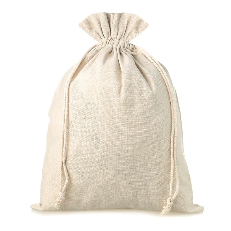 1 pz Sacchetti di lino 35 x 50 cm - naturale
