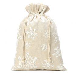 1 pz Sacchetti di lino con...