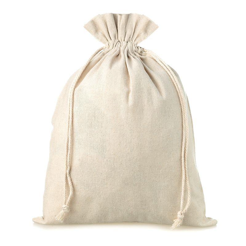 1 pz Sacchetti di lino 26 x 35 cm - naturale
