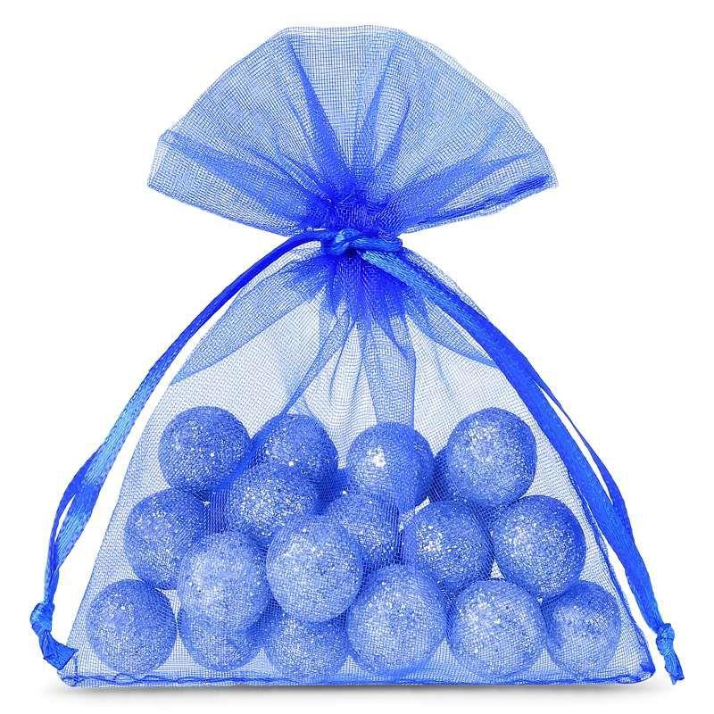 25 pz Sacchetti di organza 10 x 13 cm - blu