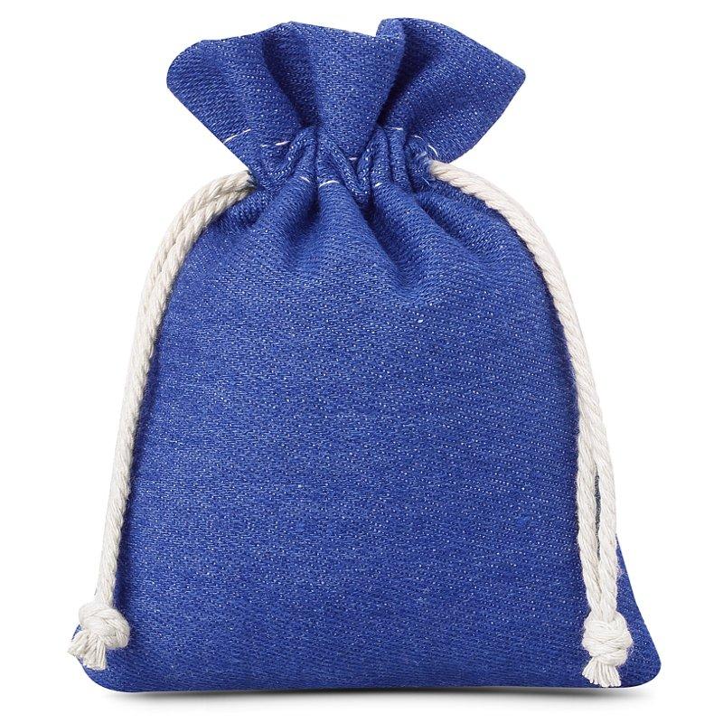 3 pz Sacchetti di jeans 12 x 15 cm - blu