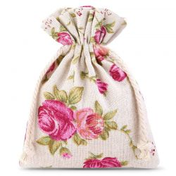10 pz Sacchetti di lino con...