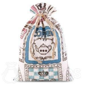sacchetti di lino DIY