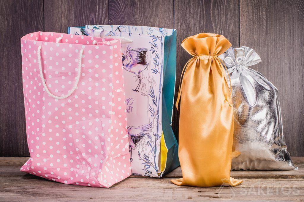 I sacchetti in tessuto durano molto più a lungo