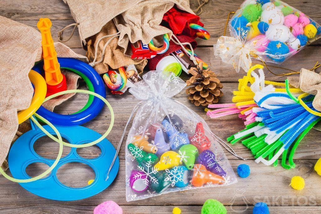 I sacchetti sono perfetti per conservare giocattoli