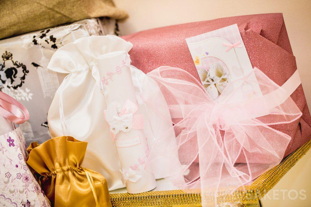 I sacchetti sono perfetti per confezionare regali, ad esempio per un battesimo