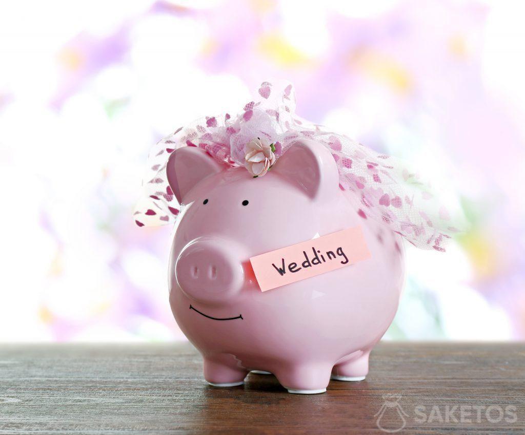 Il porcellino salvadanaio è una confezione originale per regalare soldi
