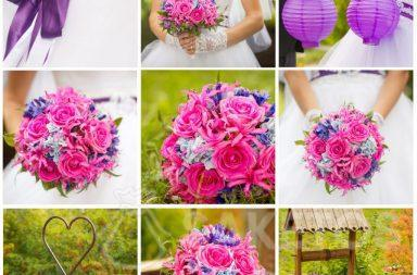Collage per una facile selezione di accessori nel colore principale