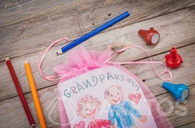 Alloro per i nonni confezionato in una borsa