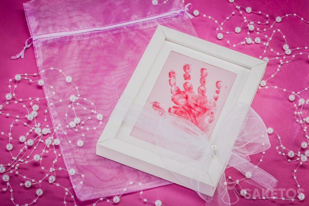 Cornice con manico per bambini stampato