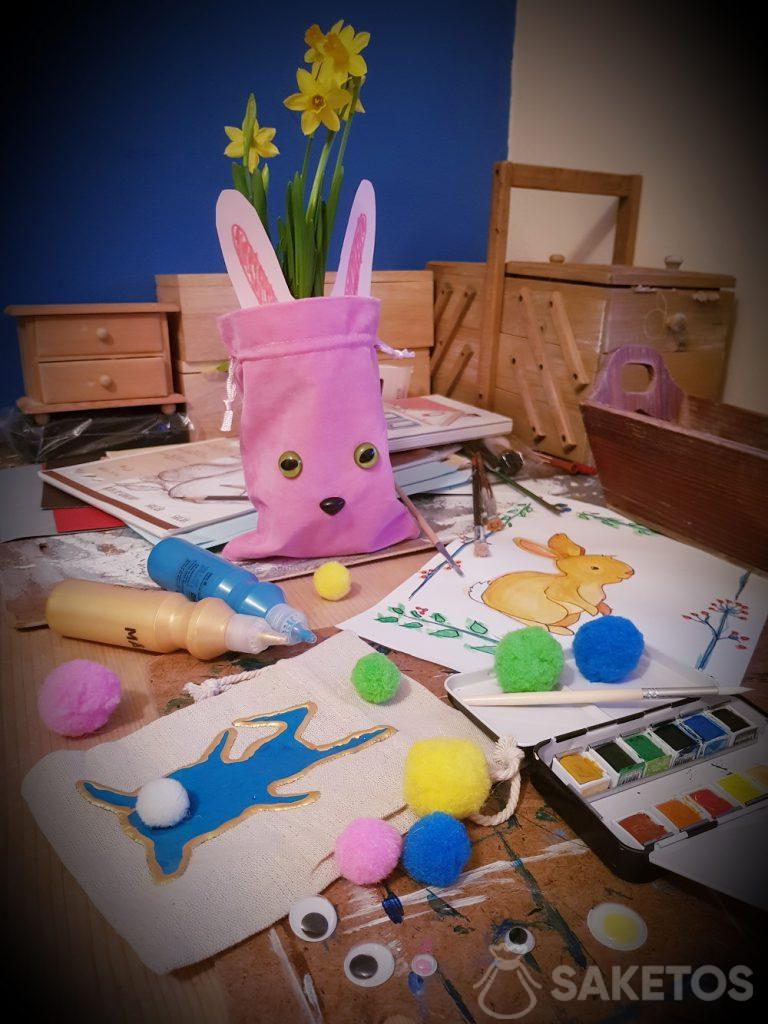 Creativo con il tuo bambino - Borse fai-da-te per Pasqua