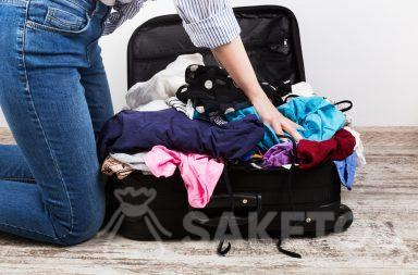Gli organizer per borse da viaggio ti aiuteranno a evitare questa visione!