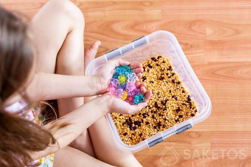 Divertimenti sensoriali per bambini