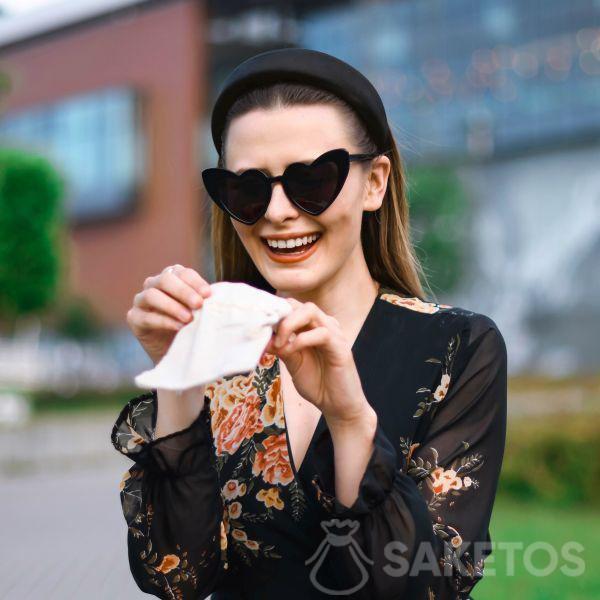 Sacchetti regalo in lino alla moda