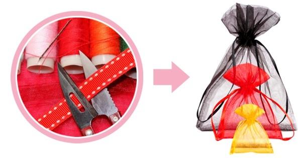 sacchetti di organza personalization